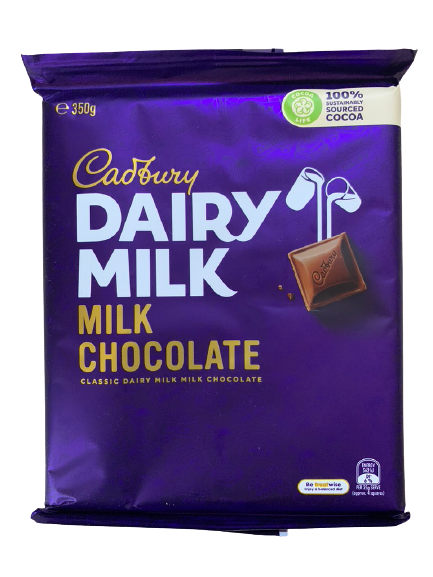 Cadbury Dairy Milk Family Block 350g