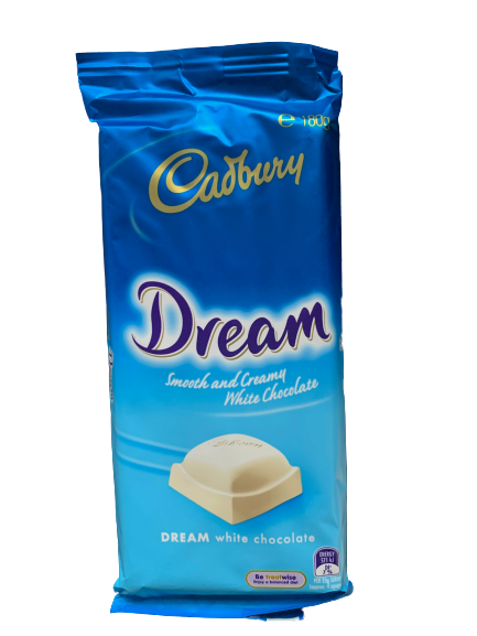 Cadbury Dream White Chocolate Block 180gm