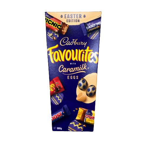 Cadbury Easter Favourites with Caramilk Eggs minis - 820g