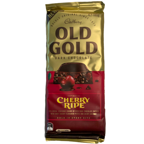 Old Gold Cherry Ripe 180g