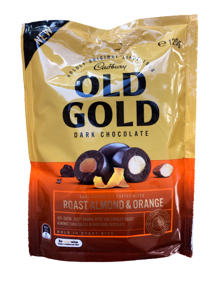 Old Gold - Roasted Almonds & Orange 120g