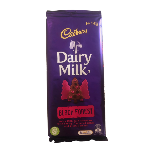 Cadbury Black Forest 180g