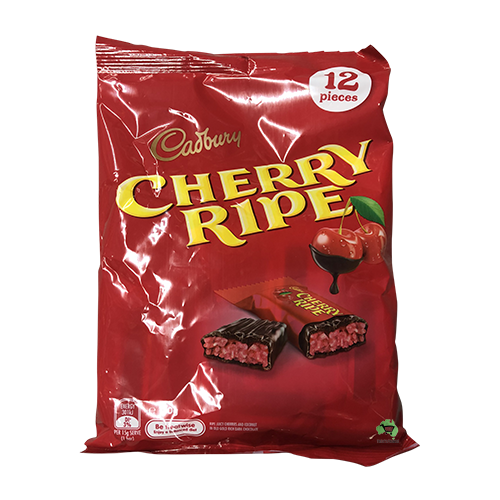 Cadbury Cherry Ripe 180g (12 pack)