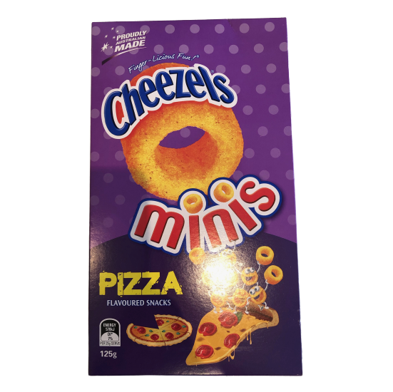 Cheezels Minis Pizza 125g