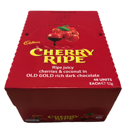Box of Cherry Ripes (48 bars)