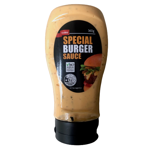 Coles Special Burger Sauce - 360g