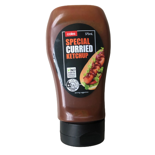 Coles Special Curried Ketchup - 375ml