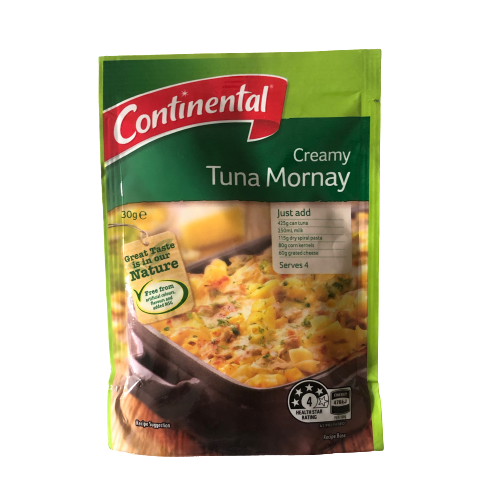 Continental Creamy Tuna Mornay 30g