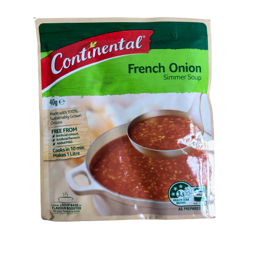 Continental French Onion Simmer Soup 40g