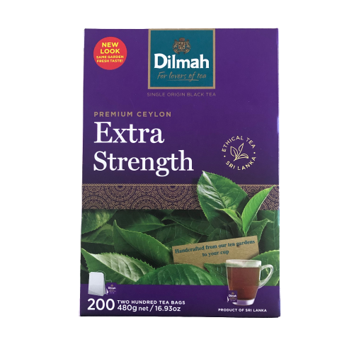 Dilmah Extra Strength 200 teabags