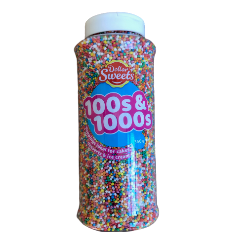 Dollar Sweets 100s & 1000s - 350g