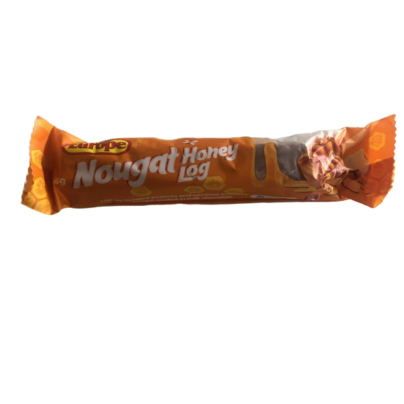 Europe Nougat Honey Log