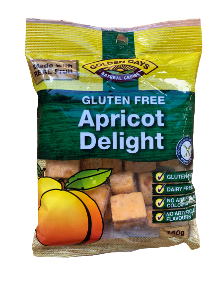 Golden Days Apricot Delight 150g
