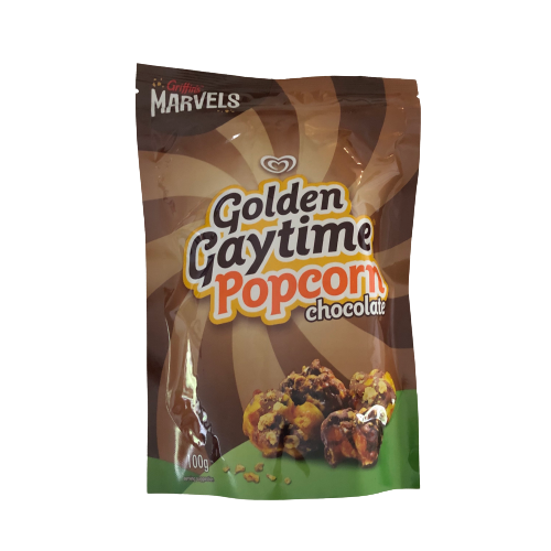 Golden Gaytime Popcorn Chocolate 100g