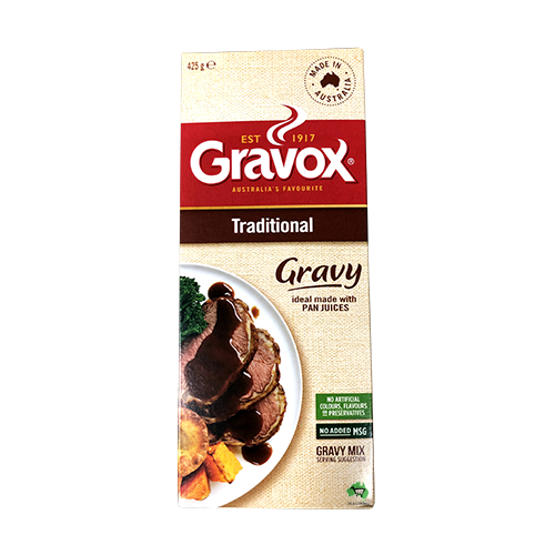 Gravox Powdered Traditional Gravy Mix 425g