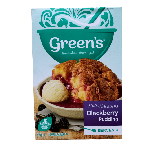 Green's Self-Saucing Blackberry Pudding - 260g