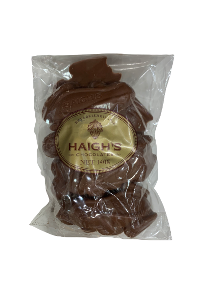 Haighs Milk Chocolate Frogs 140g
