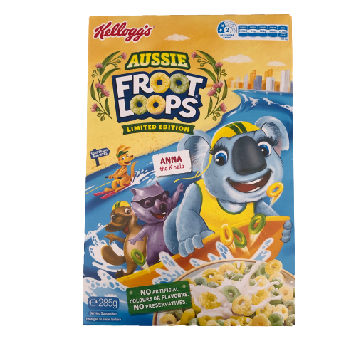 Kellogg's Froot Loops - Aussie Limited Edition 285g