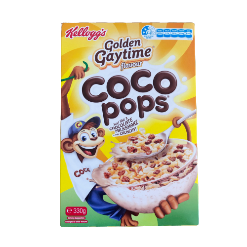 Kellogg's Golden Gaytime flavour Coco Pops 330g