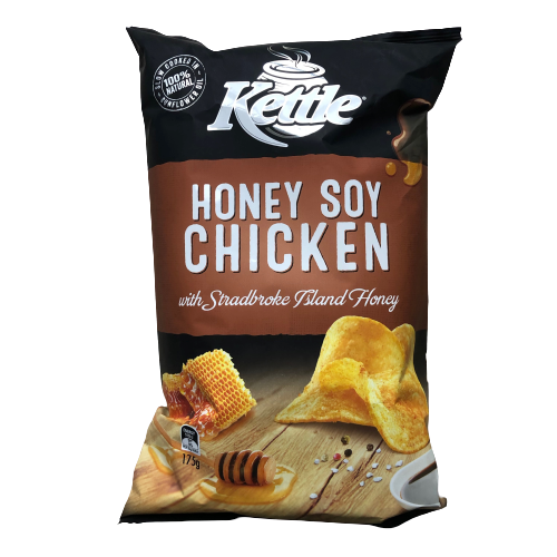 Kettle Honey Soy Chicken chips 175g