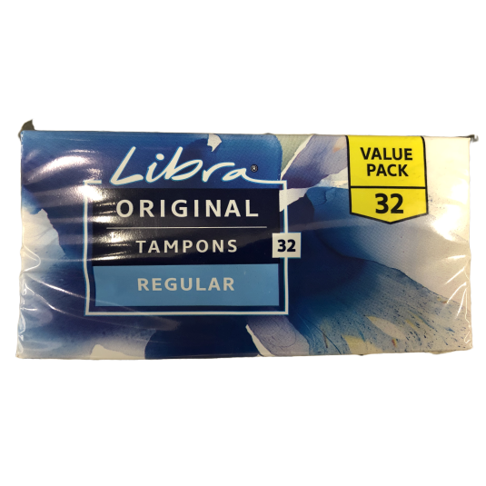 Libra Original Regular Tampons 32 pack