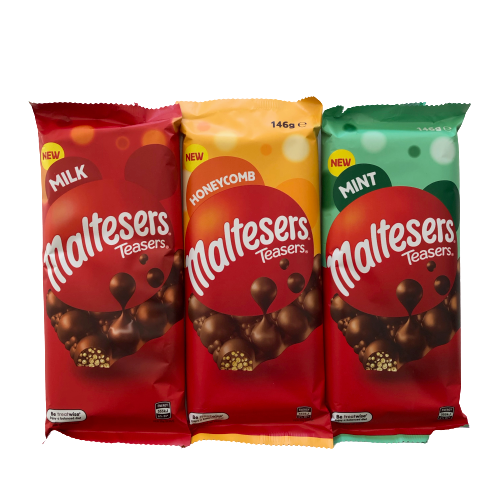Maltesers Chocolate Block (3 flavours)