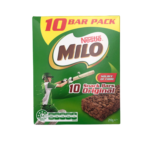 Milo - Original Snack Bars - 10 bars