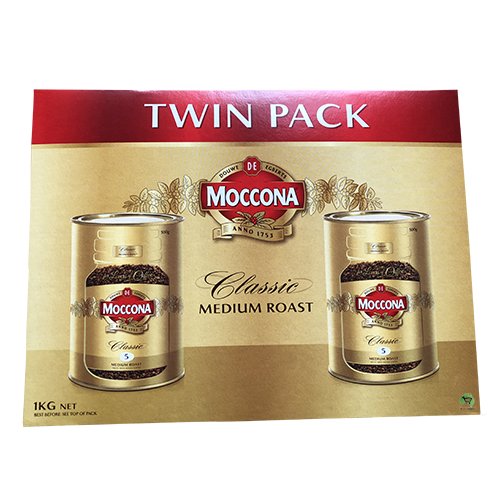 Moccona Classic Medium Roast 2x500g