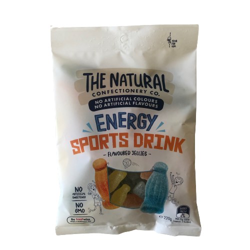 Natural Confectionery Co Energy Sports Drink 220g