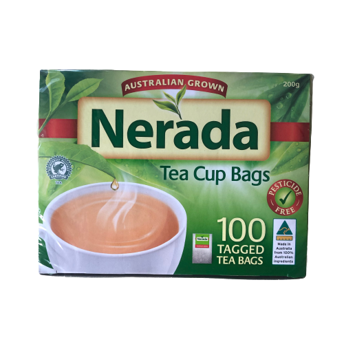 Nerada 100 tagged teabags