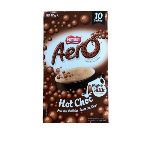 Nestle Aero Hot Chocolate - 10 sachets - 185g