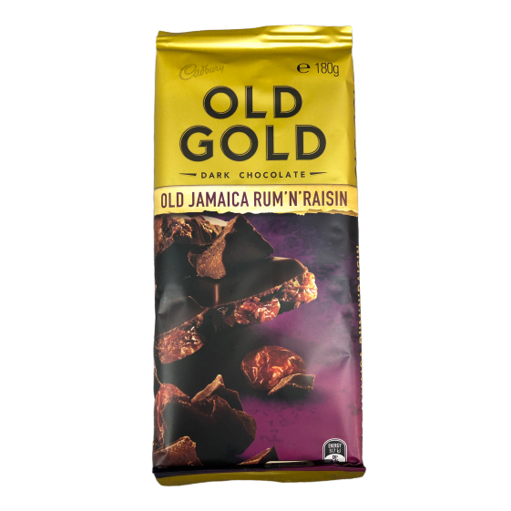 Old Gold - Jamaica Rum n Raisin 180g