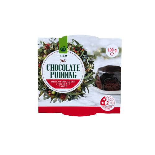 Woolworths Rich Chocolate Pudding 100g