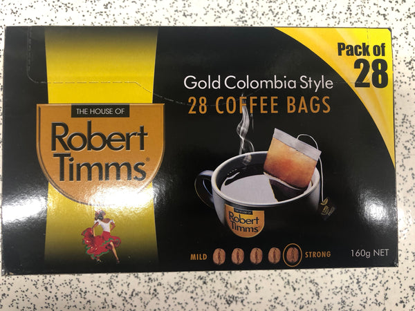 Robert Timms Coffee Bags (various flavours)