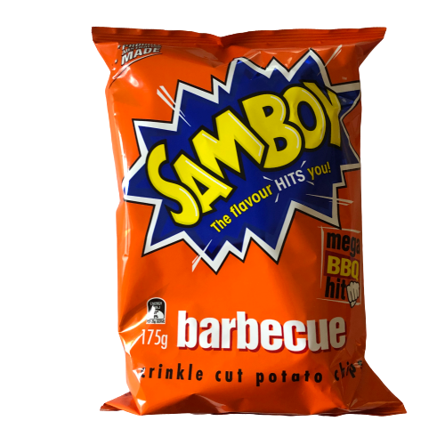 Samboy Barbeque chips 175g