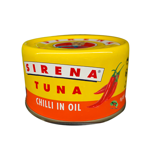 Sirena Tuna in chilli oil- 95g