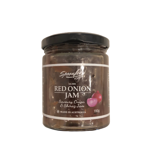 Red Onion Jam - Spoonfed Foods