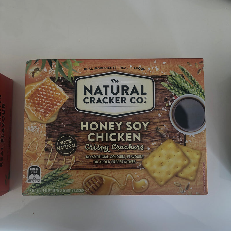 Natural Cracker Company (various flavours)