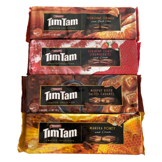 Tim Tam Crafted Collection (1 of each)