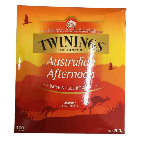 Twinings Australia Afternoon 100 teabags - 200g