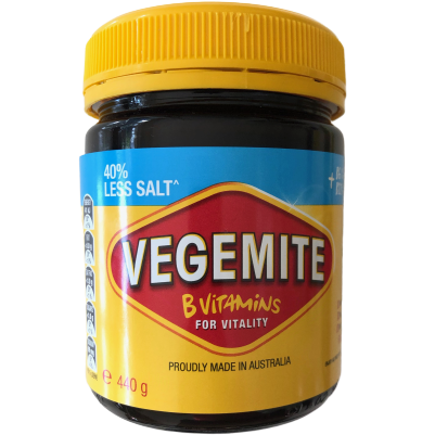 Vegemite 440g - 40% less salt