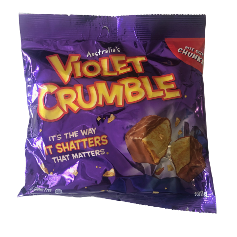Violet Crumble Bite Size Chunks 180g