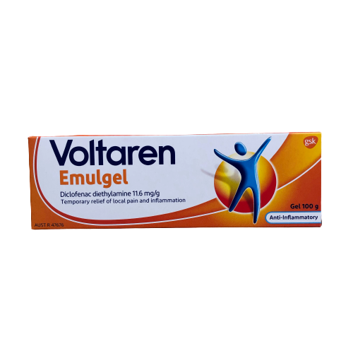 Voltaren Muscle And Back Pain Relief Emulgel 100g