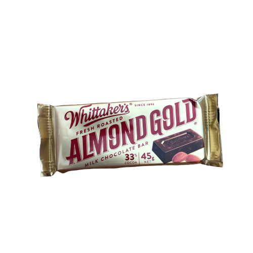Whittaker's Almond Gold 45g