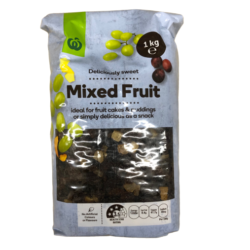 Mixed fruit 1kg - Woolworths