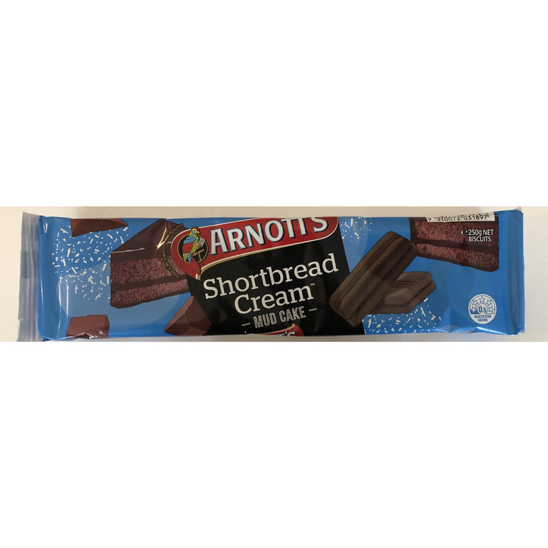 Arnott's Shortbread Cream - Mud Cake - 250g