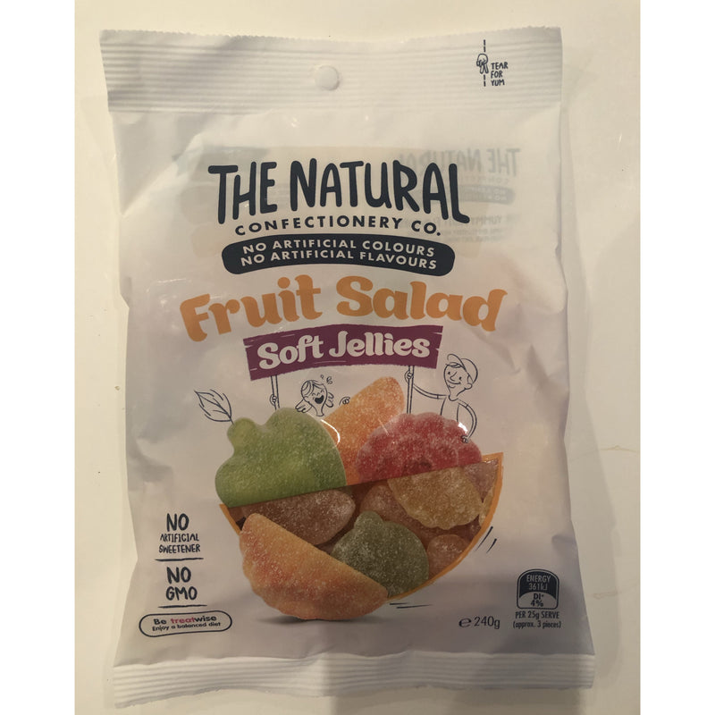 The Natural Confectionery Co Fruit Salad 240g bag