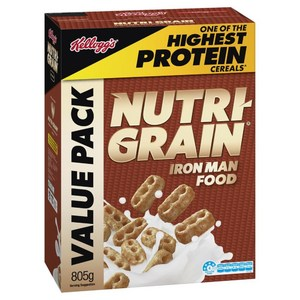 Nutrigrain 805gx10 boxes