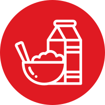breakfast cereal icon