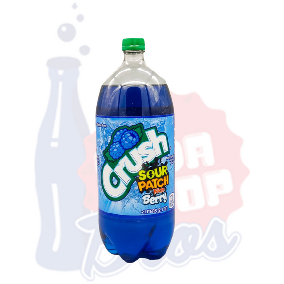 CRUSH Sour Patch Kids Berry 2L